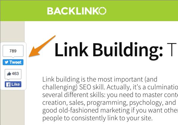 Backlinko shares