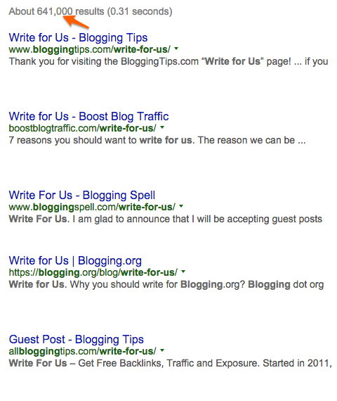 write for us google search