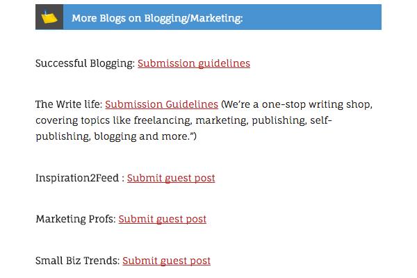 Guest Blogging Sites 1