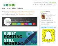 LeapFroggr Blog