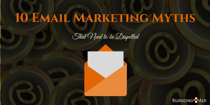 Email Marketing Myths - Featured Image