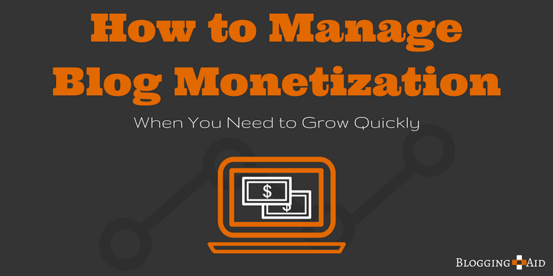 How to Manage Blog Monetization