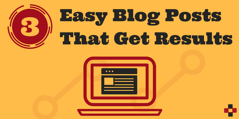 3 Easy Blog Post Ideas