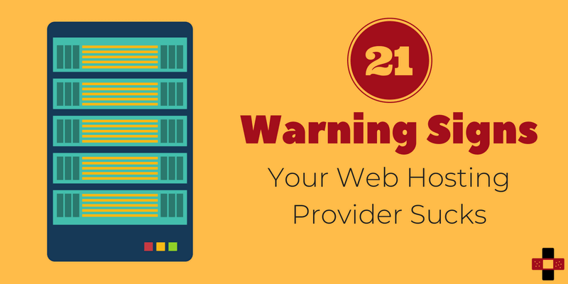 How to Identify A Low-Quality Web Hosting Provider: 21 Warning Signs [Infographic]
